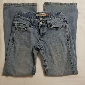 Aeropostale Hailey skinny flare jeans 00 short